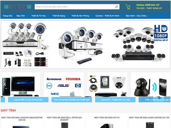 Máy Tính & Camera