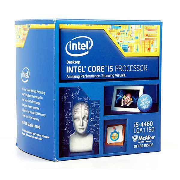CPU Intel i5-4460 (3.4GHz)