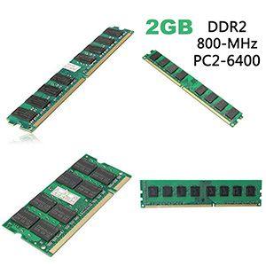 Ram DDR2 2Gb bus 800