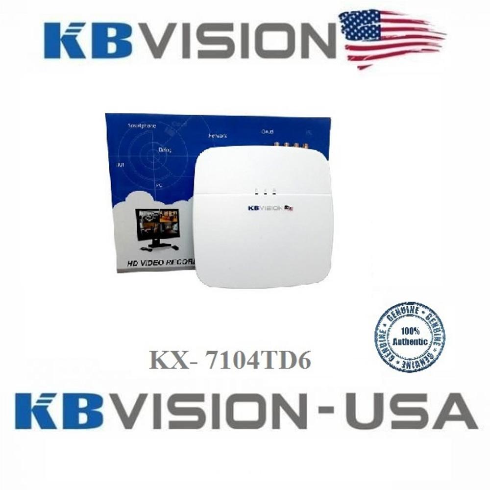 Đầu ghi KBvision KX-7104TD6 (4 kênh)