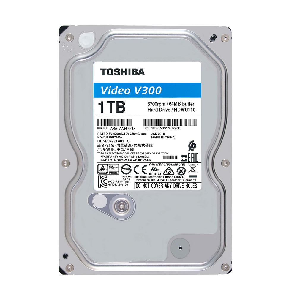 HDD Toshiba 1TB chuyên dụng camera